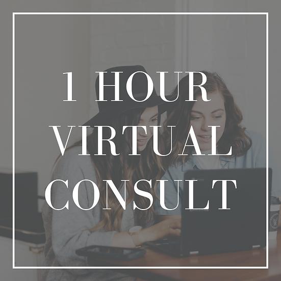 1-Hour Virtual Consultation