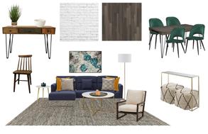 boho style living room decor in toronto