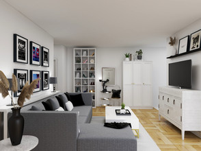 eDesign and Virtual Design done for toronto condo