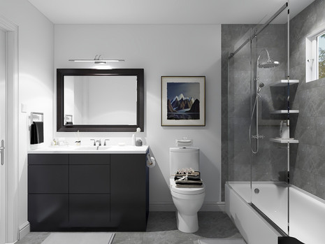 Bathroom remodel in Brampton house for young couple