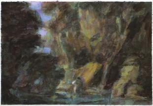 Poachers (After John Butts), Watercolour