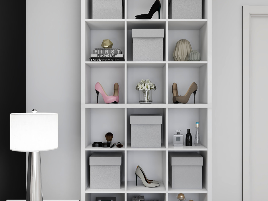 How to style a cube shelf for bedrooms