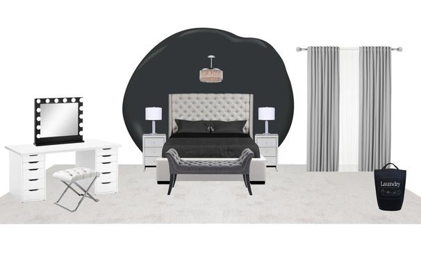 bold glam master bedroom ideas