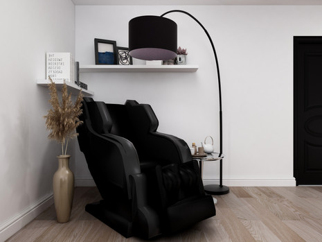 how to style a massage chair into your home