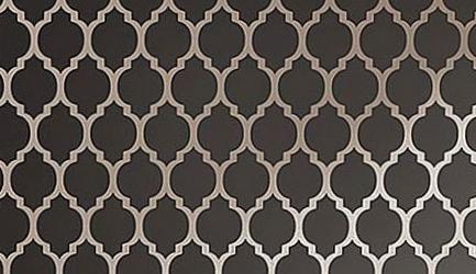 Classic trellis pattern wall stencil