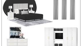 Bedroom - One Room Challenge - Week Three - Concept Board