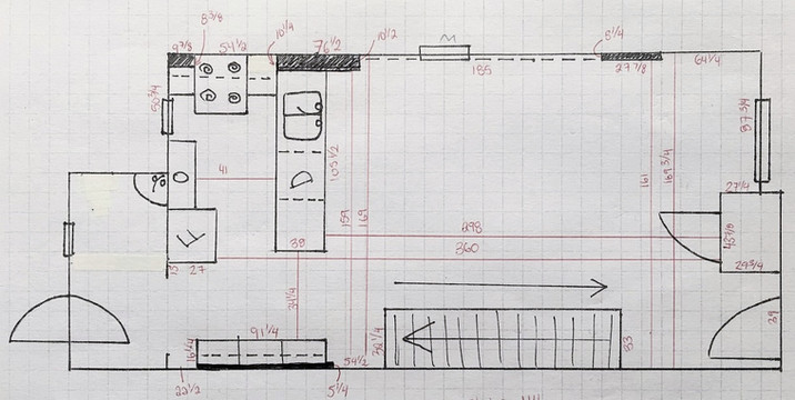 how to get dimensions of a room, measurements, inches, feet, mm