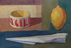 Still Life Study III, Oil on board, 21 x