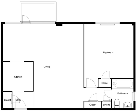 professional digital scaled floor plan