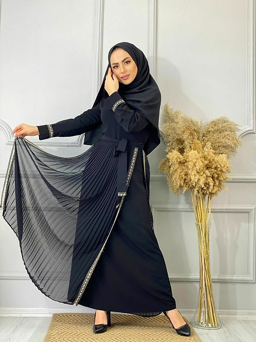 Layered Hijab Dress