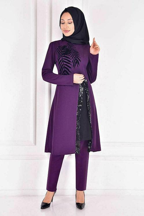 Branches Hijab Dress