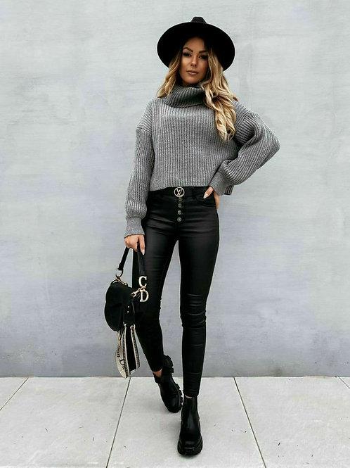Neck High Sweater