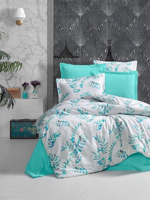 Leafy Blue Bedset