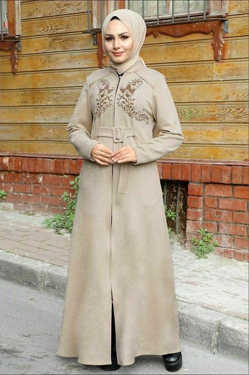 Double Arc Hijab Dress