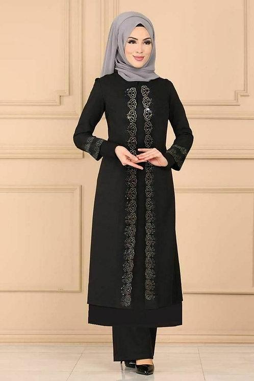Little Details Hijab Dress