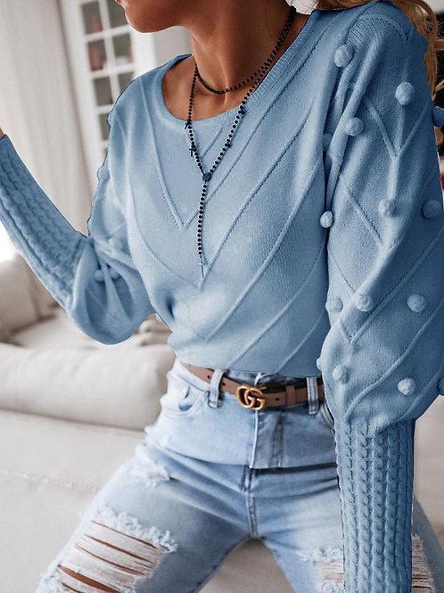 Snowballs Sweater Top