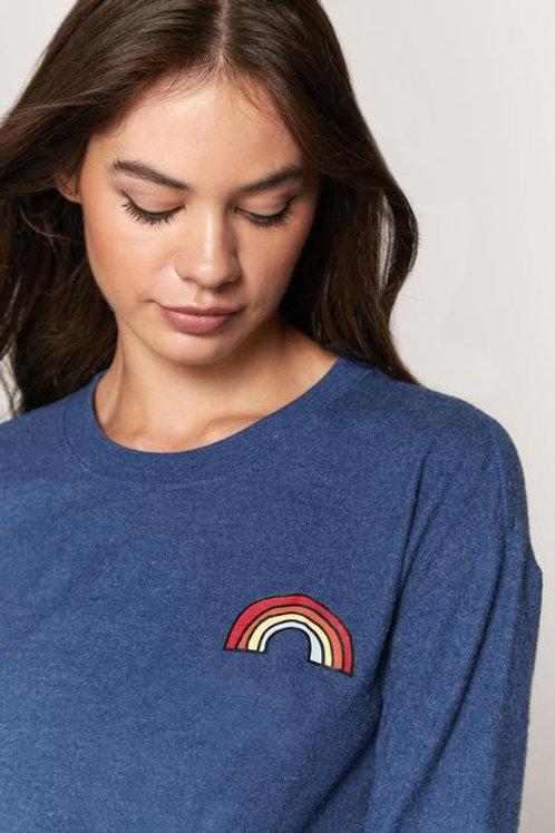 Rainbow Savasana Pullover