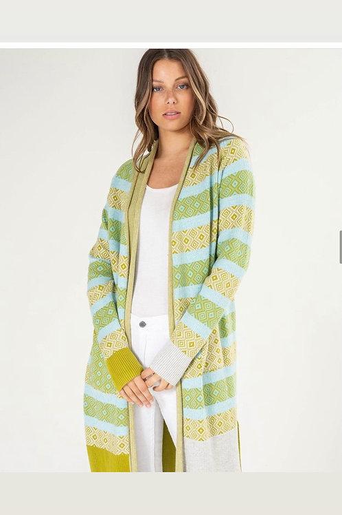 Multi Knit Cardigan