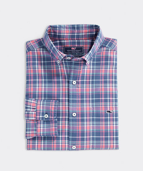 Lyle Flannel Whale Shirt