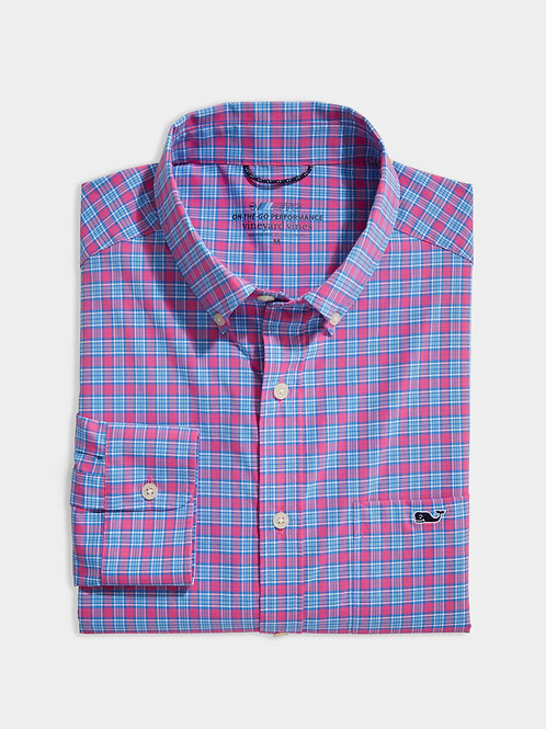 Classic Fit Small Check On-The-Go Shirt