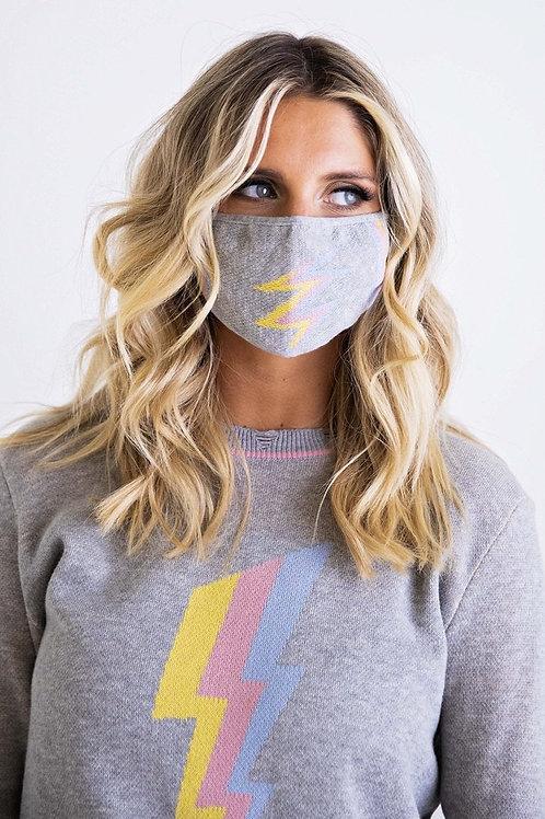 Lightning Sweater Set with Mask