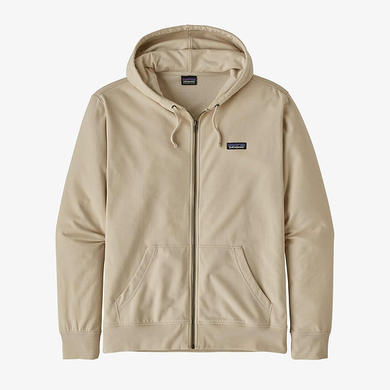 P-6 Label Lightweight Full-Zip Hoody In Pumice
