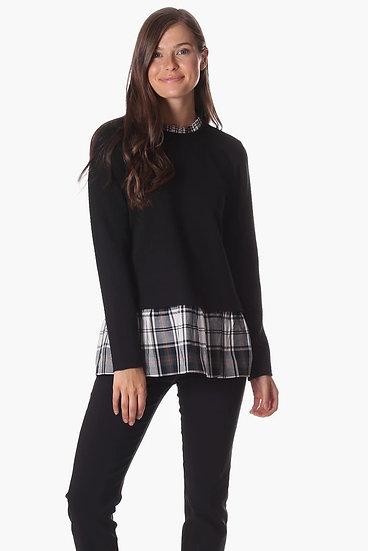 The Nina Top in Black