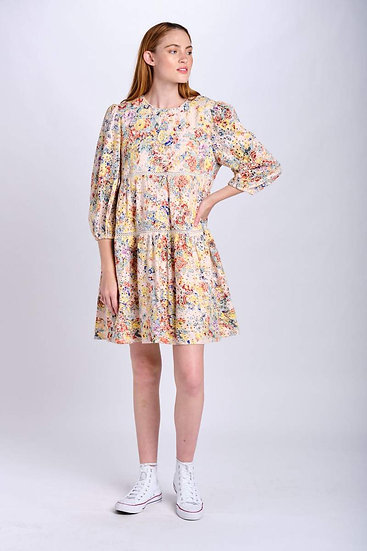MARIBEL EYELET DRESS