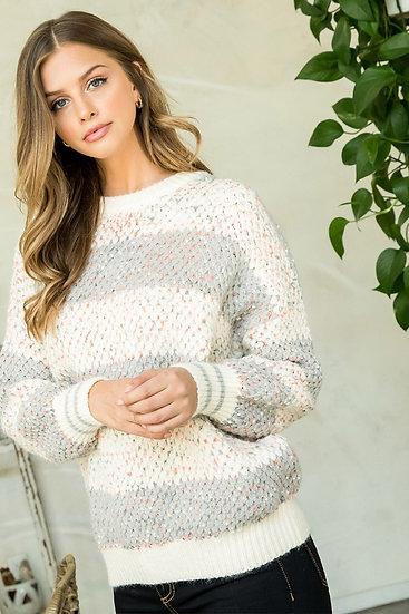 Knit Confetti Sweater