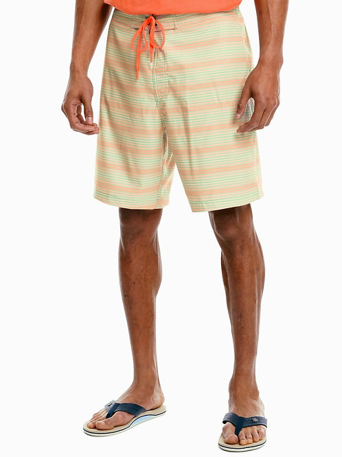 Ghost Stripe Swim Trunk