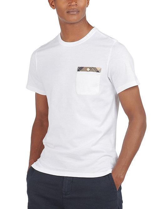 Durness Tartan-Trim Pocket T-Shirt