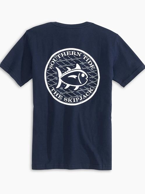 Skipjack Net Tee