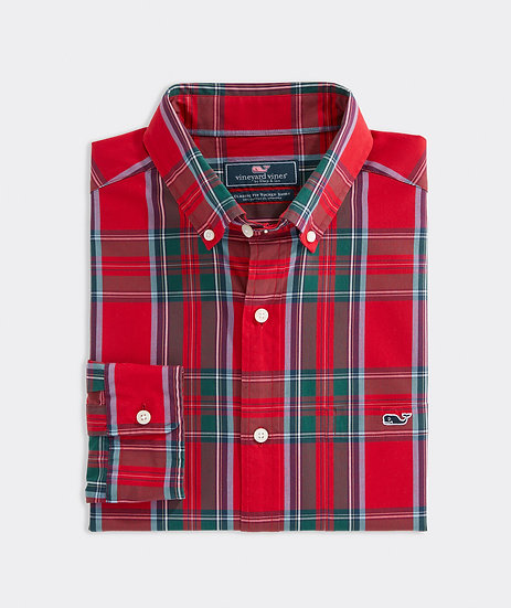 Classic Twill Tucker Shirt
