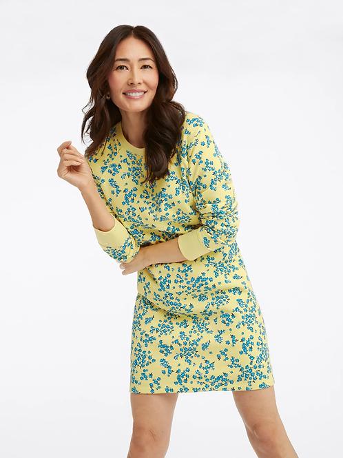 Natalie Sweatshirt Dress in Cherry Blossom
