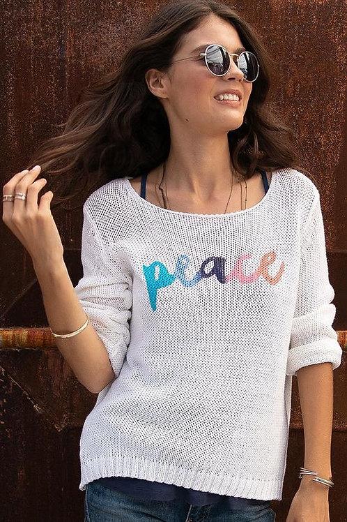 Peace Cotton Knit