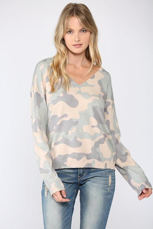 Camo Light Sweater