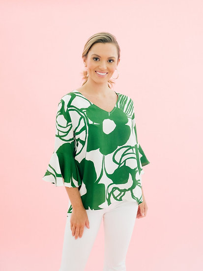 Park Top in Jungle Green