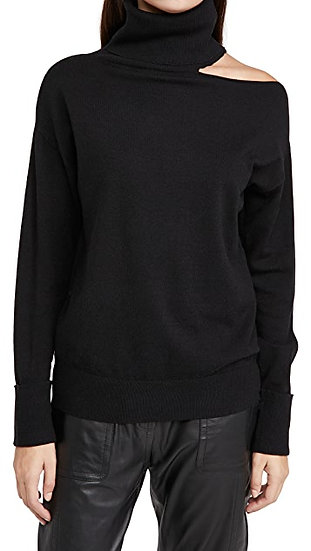 Cold Collarbone Pullover