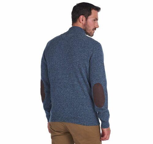 Half Patch Sweater