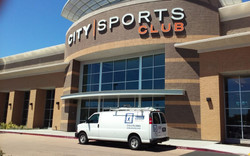 welcome City Sports club to our window cleaning family
