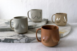 It's all about the mugs.