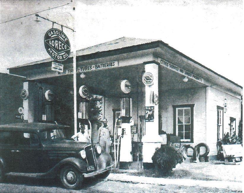 City Service Gas Station