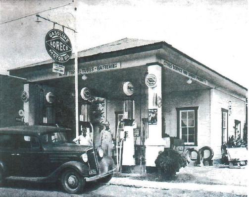 City Service Gas Station
