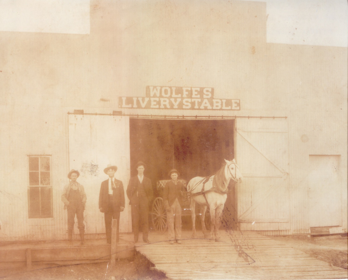 Wolfes Livery Stables