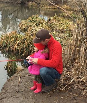 Doing a little fishing