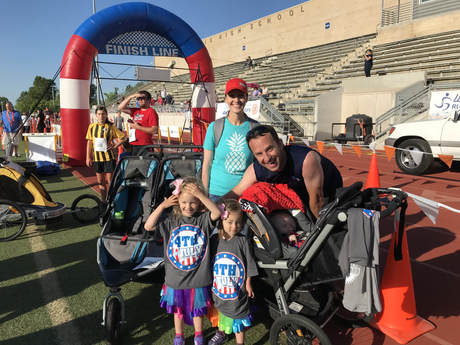 Our family team completed another 5K!