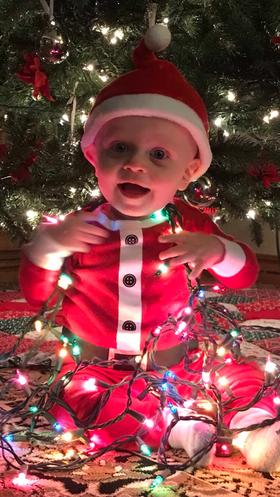 Santa's little buddy
