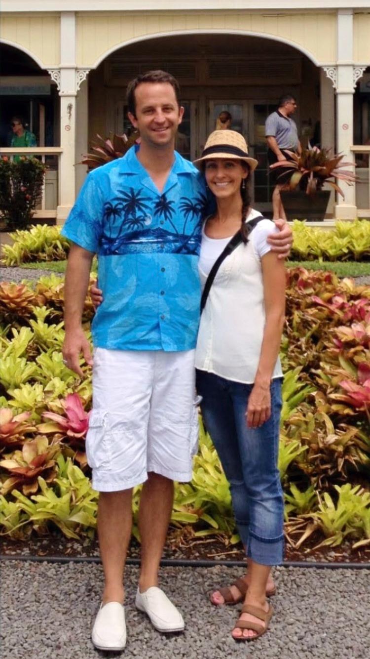 On vacation in Hawaii