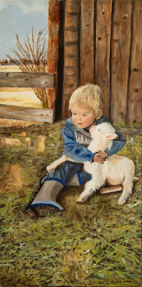 Vincent's First Love 12x24.jpg