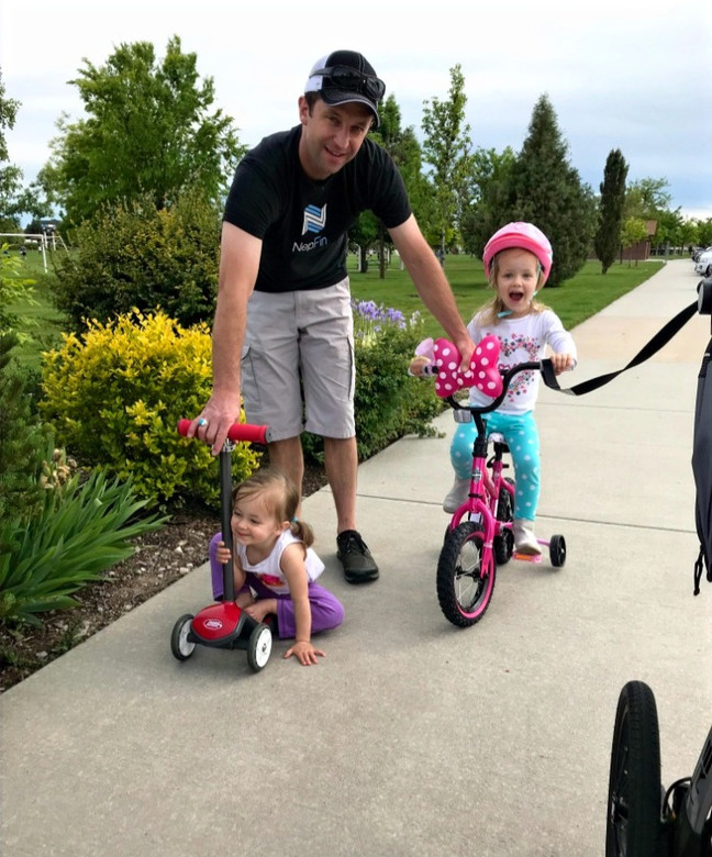 Learning to ride...sort of